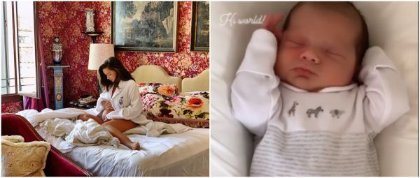 Cuteness Overload: Amy Jackson Shares First Picture Of Her Newborn Baby Boy