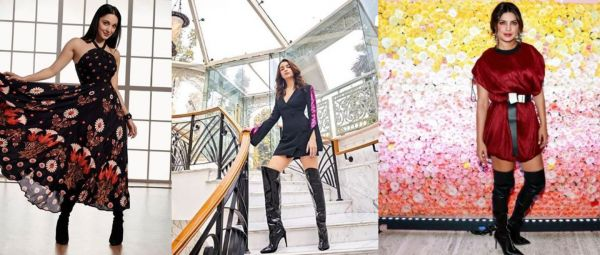 7 Ways To Style Your Thigh-High Boots This Winter, Celebrity Style!