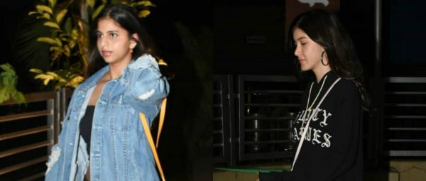 Suhana Khan & Shanaya Kapoor Have The Coolest Movie Night Outfits For You & Your BFF