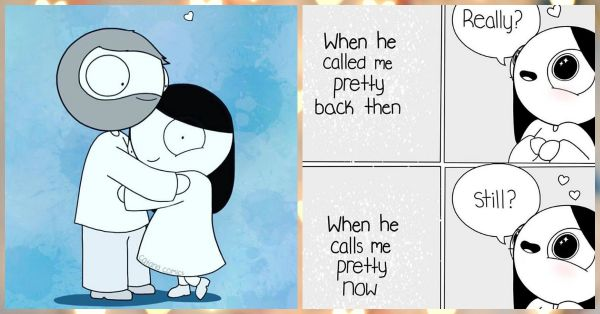 7 Sweet, Goofy & Adorable Comics For ALL *Happy* Couples!