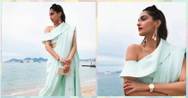 Sonam Kapoor Is Giving Us Major #SareeGoals With THIS Cannes Outfit!