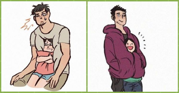 10 Relationship Illustrations That'll Make You Go 'Aww'!
