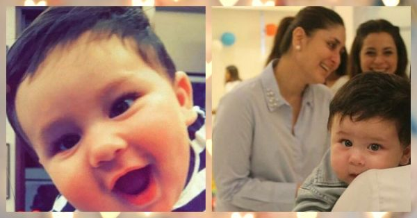 7 Pics Of Kareena & Saif's Baby That'll Make You Go 'Aww'!