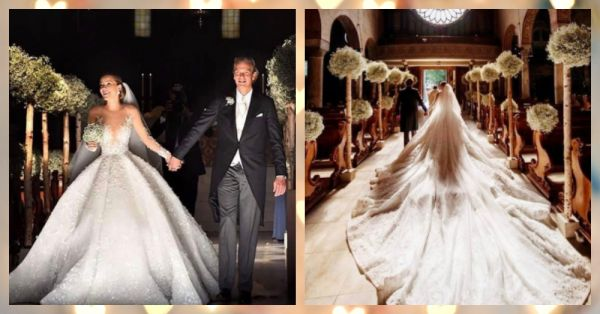 This $1 MillIon Wedding Gown Is What *Dreams* Are Made Of!