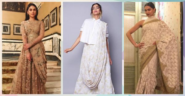 10 *New* Ways To Style A Saree Like Your Fav Bollywood Star!