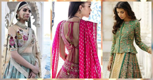 10 latest saree blouse designs For Your Wedding!
